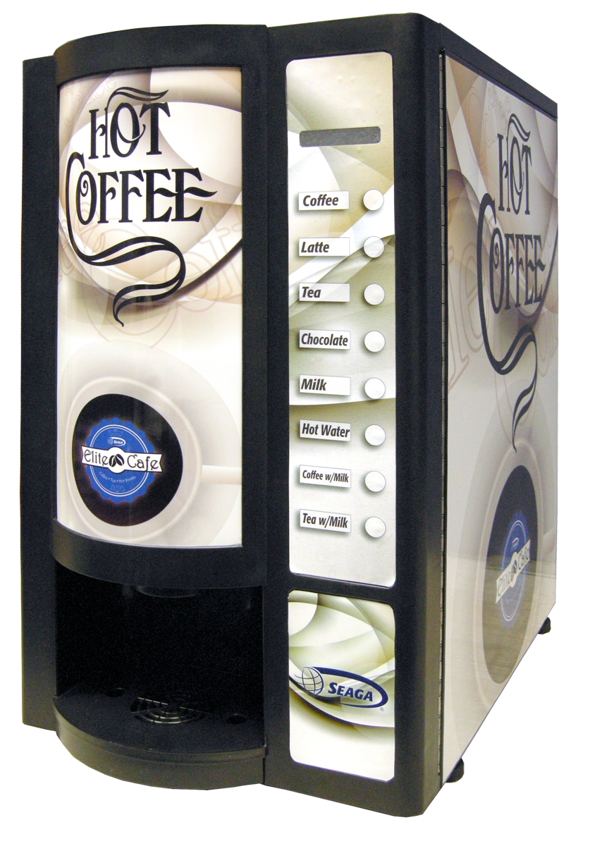 With the support of Seaga professionals, we present the Elite Coffee Machine Series. Seaga's EC400 dispensing units provide optimal quality
