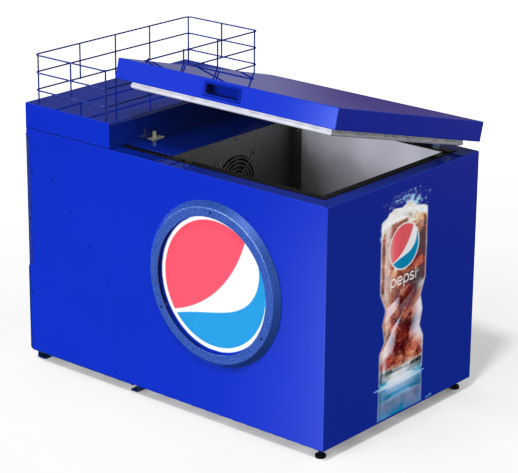 The Seaga Visi-Coolers is the ultimate solution in glass door refrigerated merchandising for worldwide brands including Pepsi, Coke, and 7Up