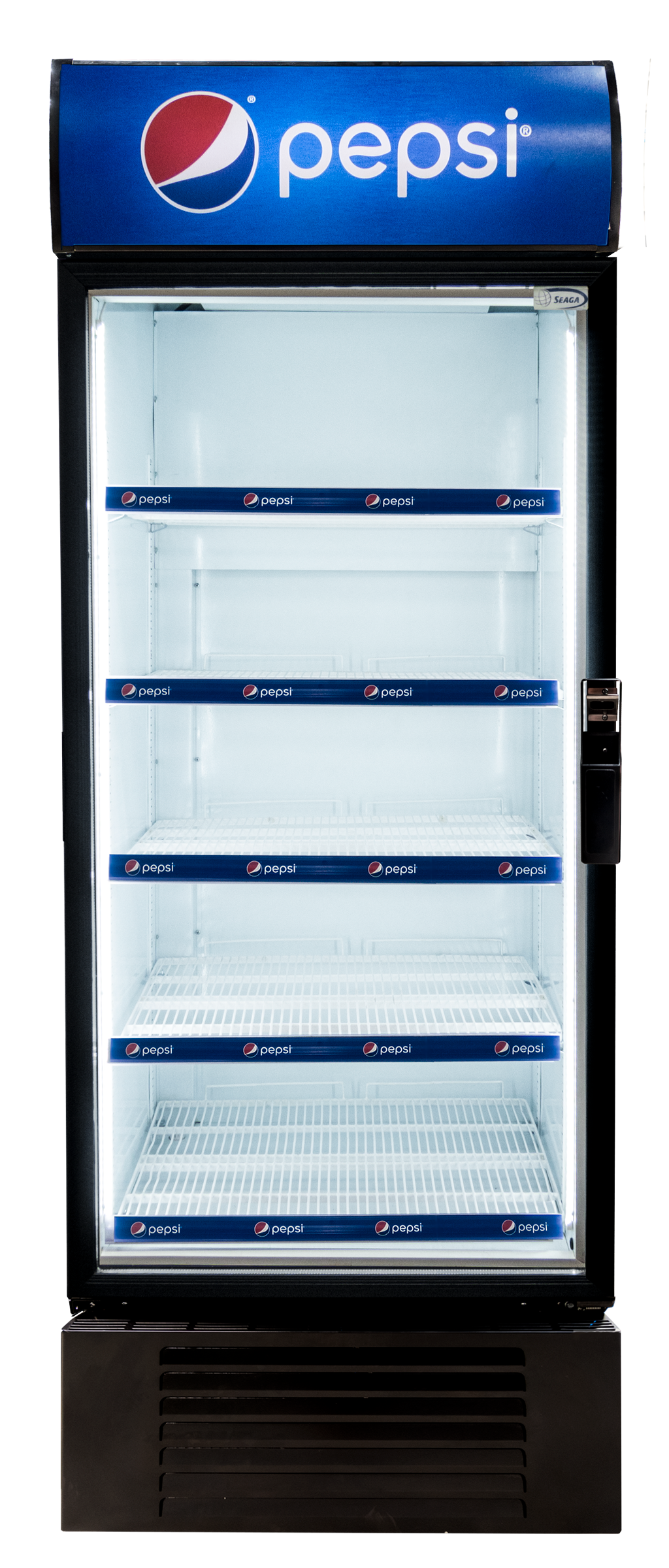 The S600 Glass Door Merchandiser offers proven innovative technology to ensure the best refrigeration and high visibility presentation of your items