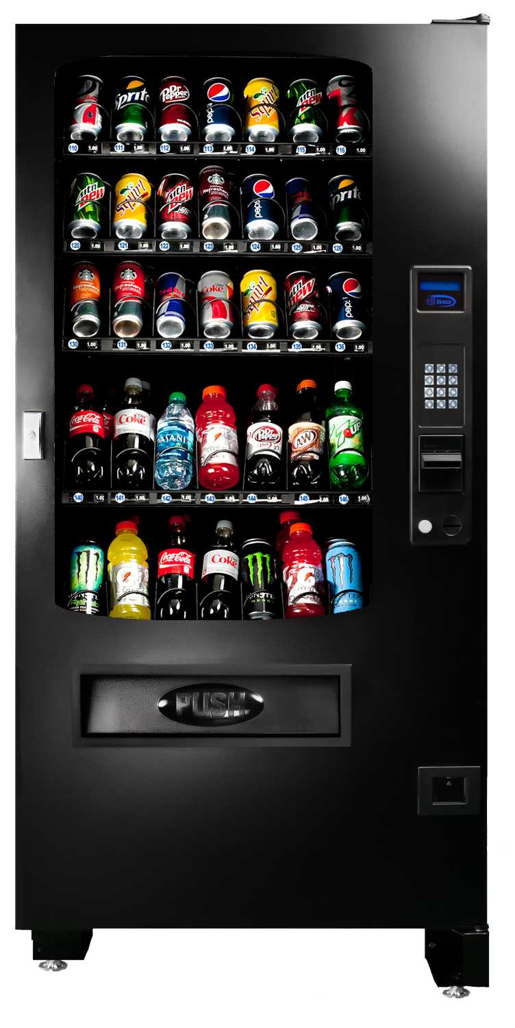 The INF4B is great for locations with limited space that don't require dedicated beverage merchandisers.