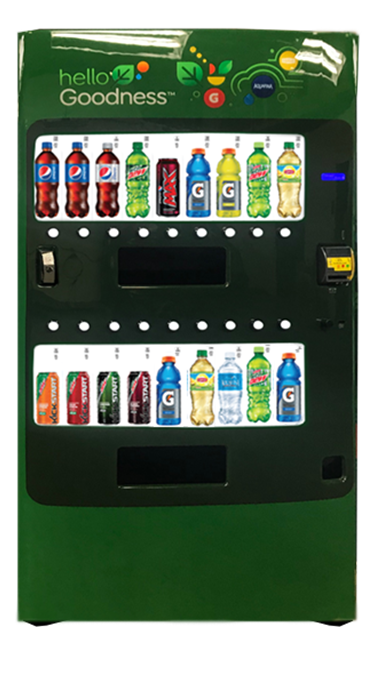 Hello Goodness Vending Machine gives you the power to load up with these high margin products