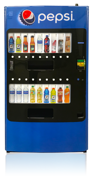 Seaga LV2018 Pepsico Vending Machine gives you the power to load up with these high margin products developed by PepsiCo