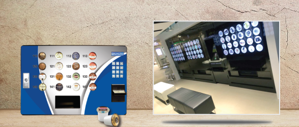 Specialty Vending. Maximize your brand potential and sales with eye-catching, low cost investment to maximize your new routes to market.